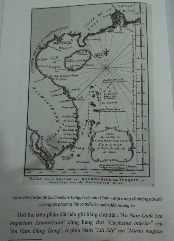 Chủ quyền Trường Sa Hoàng Sa, thư tịch cổ, châu bản, Trung Quốc, Việt Nam, cưỡng chiếm Hoàng Sa, bản đồ, sử sách, hải đội Hoàng Sa