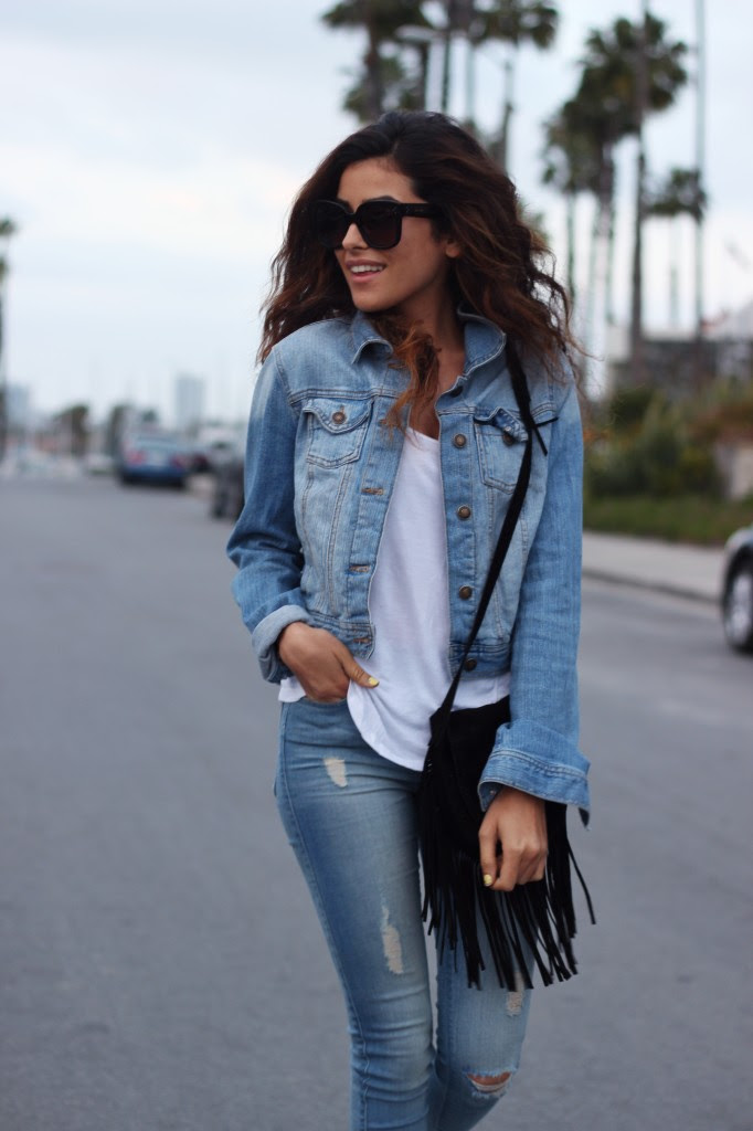 simple in denim  sazan