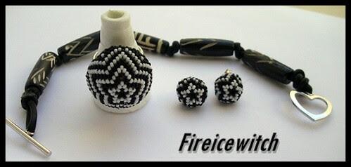 Conjunto Blanco y negro by fireicewitch