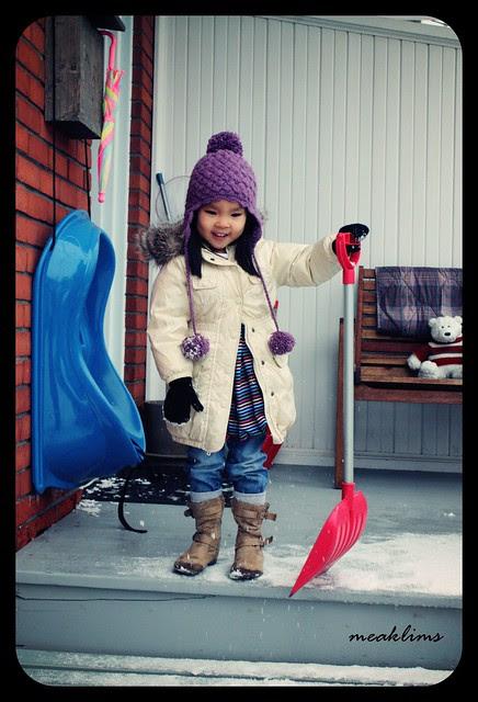 the joy in snow