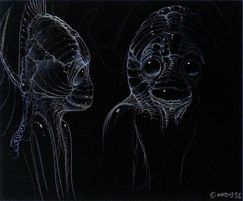 Moebius - Alien Concepts For Abyss 8