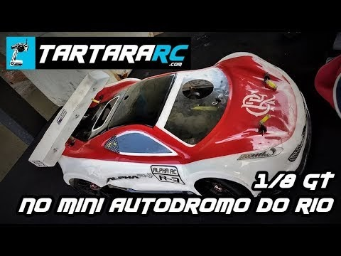 Mugen 1/8 GT - TD 300319 - mini autódromo do Rio