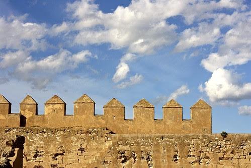 Alcazaba de Almería, Spain