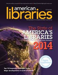 "Cover photo of ""American Libraries"""