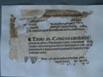 As Ordenações Manuelinas são o primeiro corpo legislativo português impresso