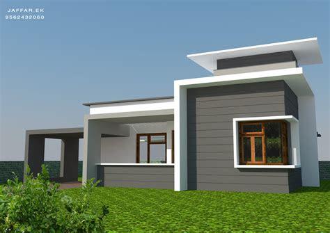 sq ft single floor contemporary home design home
