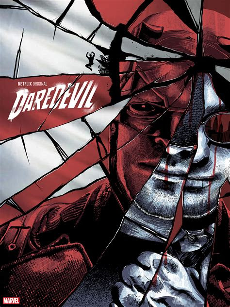daredevil poster  behance