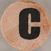 studio g Stamp Set Block Letter C