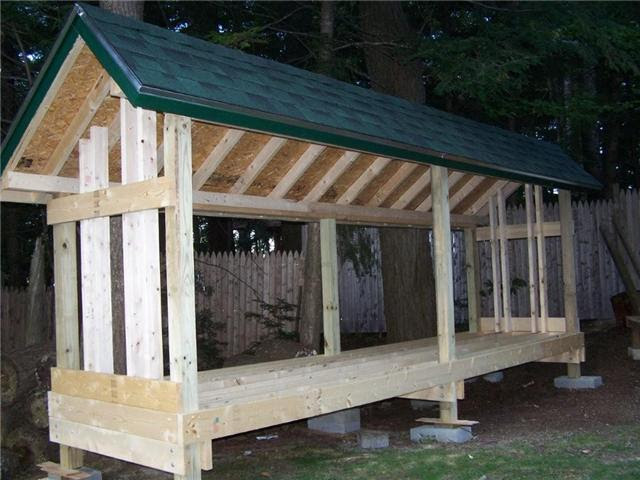 Wood Shed Plans And Designs Newshed Plans