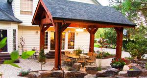 Covered Patio Pavilion Design Construction In Spokane