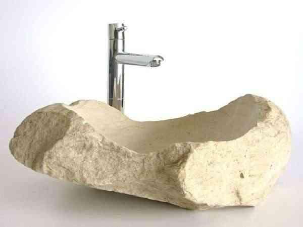 Dormitorio muebles modernos lavabo piedra - Muebles para sanitarios ...