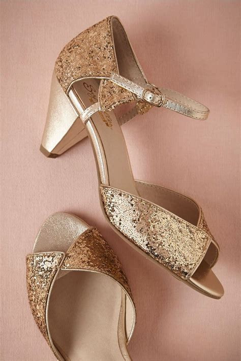 17 Best ideas about Gold Wedding Heels on Pinterest   Rose