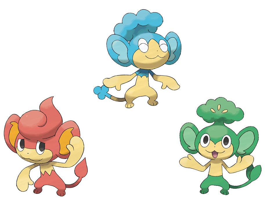 pokemon black and white monkeys.  and N debut in the fifth generation games Pokémon Black and White.