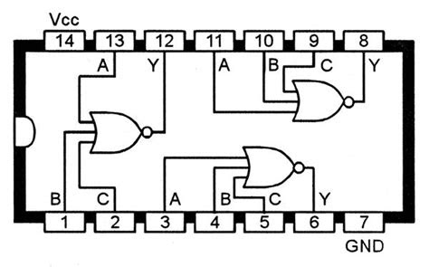 pin  electronic schematics