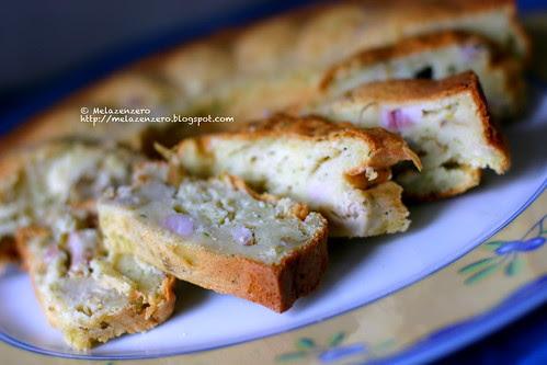 ciambella salata con ricotta e verdure