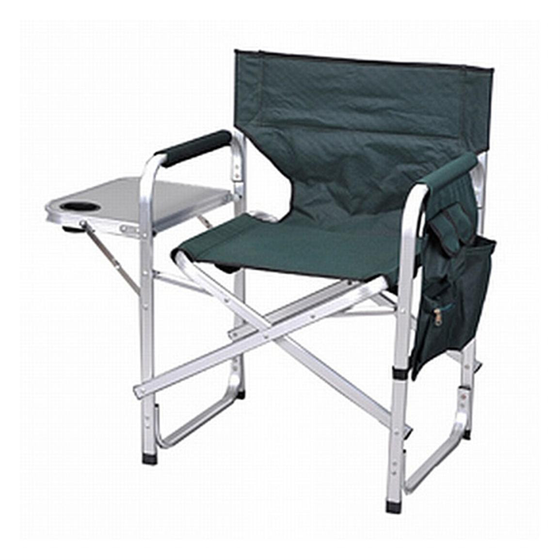 Stylish Camping Folding, Full-Back Director's Chair ...