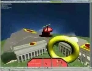 Helicóptero virtual é pilotado apenas com o pensamento