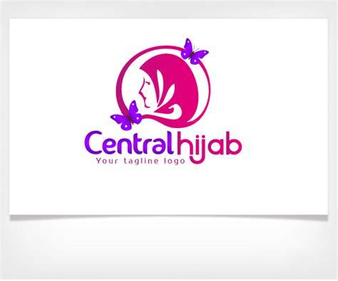 contoh logo perusahaan hijab jasa desain grafis