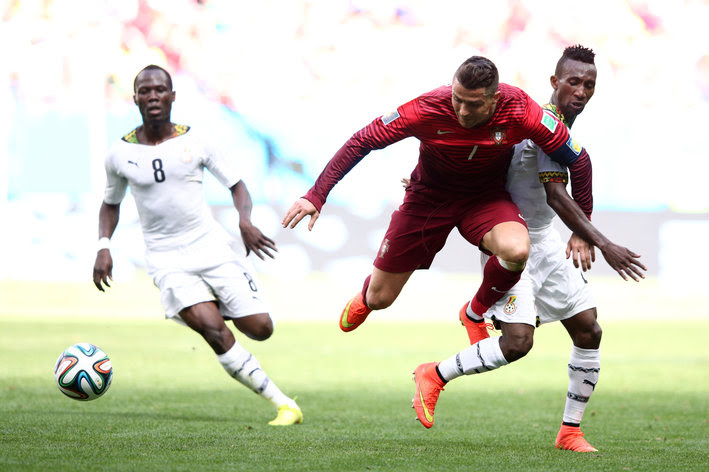 Cristiano Ronaldo, Portugal vs Ghana
