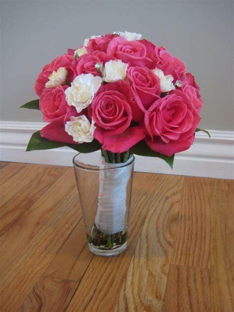 Buds Floral Design: Carnation and Rose Wedding