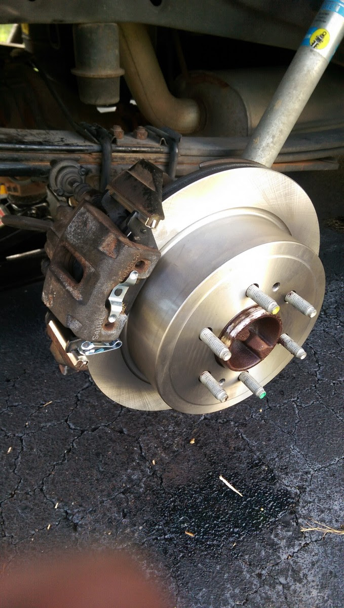Changing Brakes On An 09 14 F150 Did It Myself