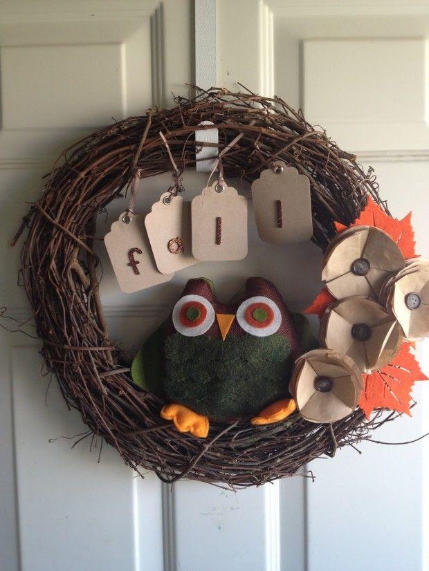25 Adorable DIY Fall Wreath Ideas