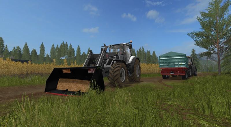 Light Materials For Front Loader V 1 Fs17 Farming