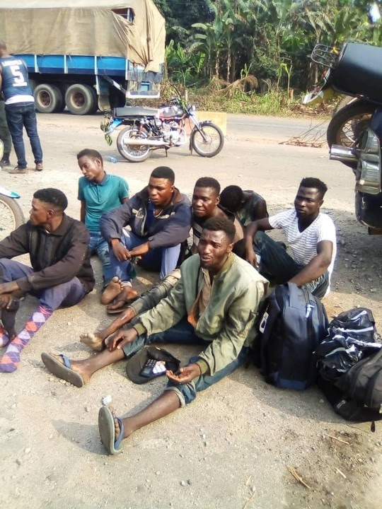 7  Suspected Kidnappers Arrested In Edo As Army Raids Riverine Communities (Photos)