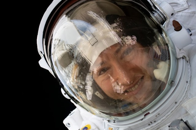 Astronaut Christina Koch returns to Earth after record-breaking stay on International Space Station