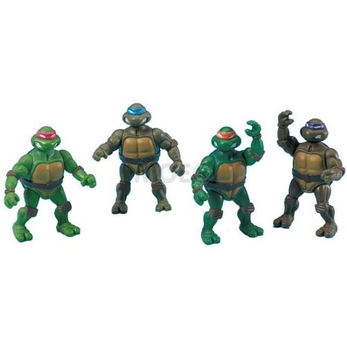 Teenage Mutant Ninja Turtles Toys: 4 Teenage Mutant Ninja