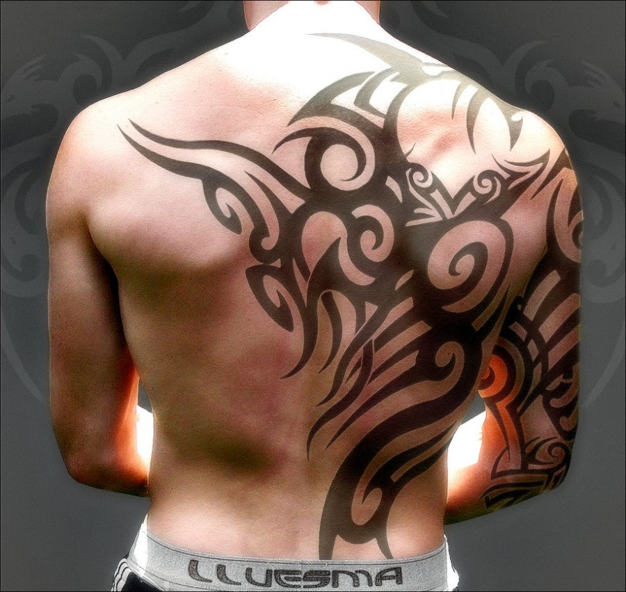 Tribal Tattoos Designs For Men On Half Body Tattoomagz