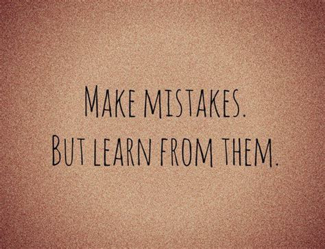Learn From Relationship Mistakes Quotes