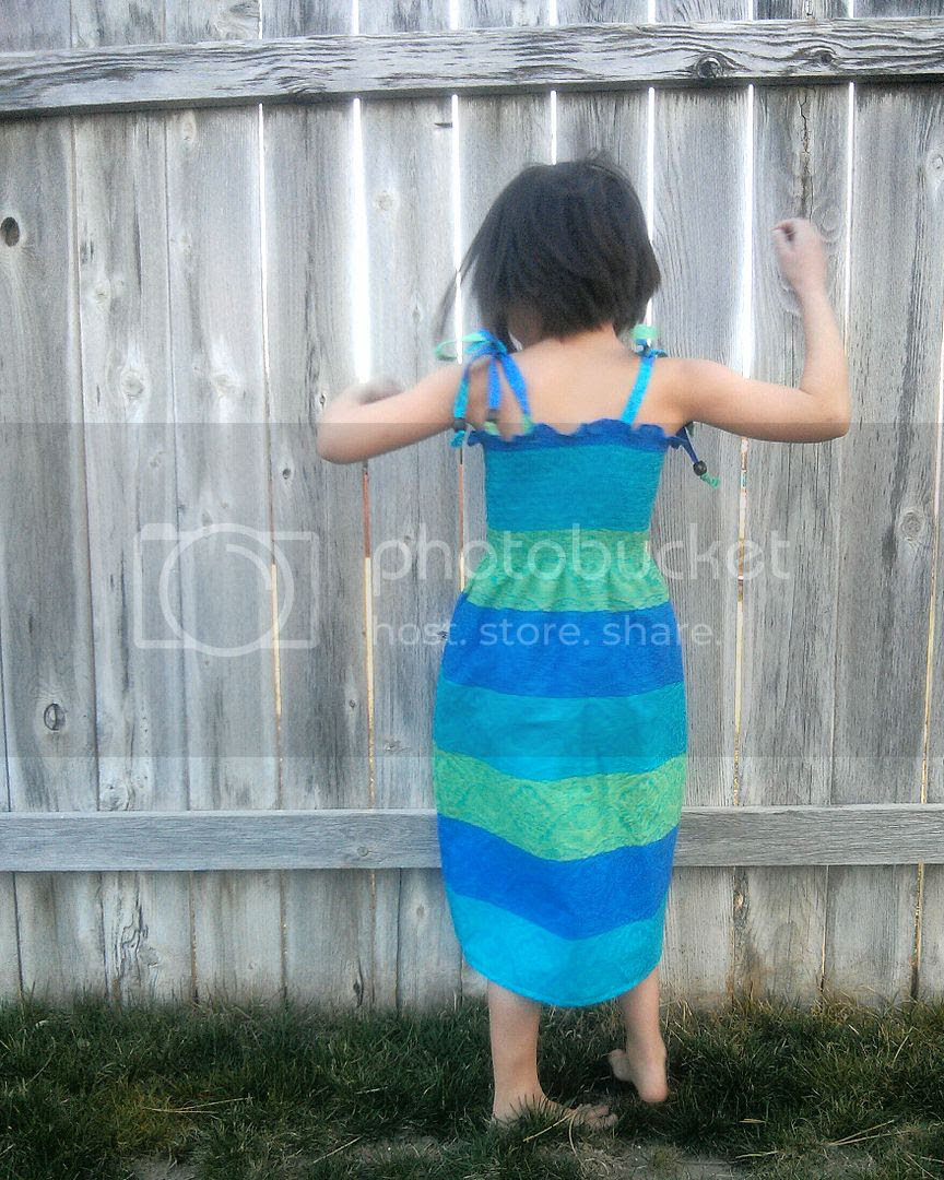 easy pre-smocked dress tutorial