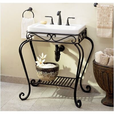 St Thomas Creations Nouveau Console Sink | Wayfair