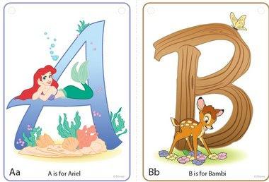 Printable Disney Alphabet Letters