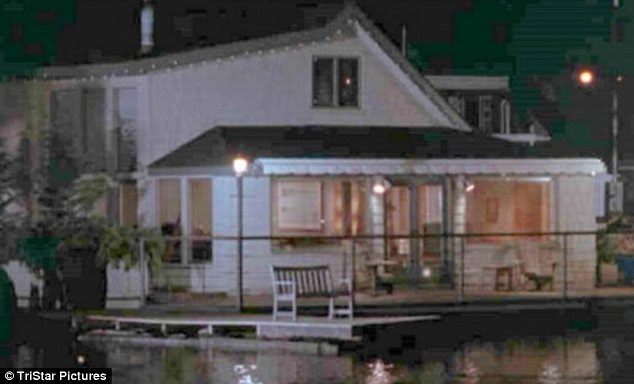 Looking back: The house as it appeared in the 1993 hit movie Sleepless in Seattle