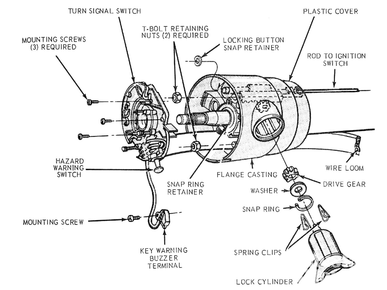 Diagram 2003 Mustang Steering Column Wiring Diagram