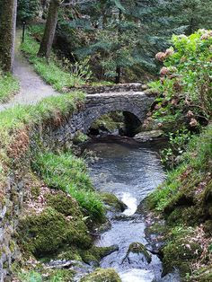 The wonderful Bodnant Gardens. North Wales.