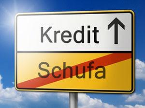 Schufa Eintrag droht  mit Schweizer Kredit die Bonität retten