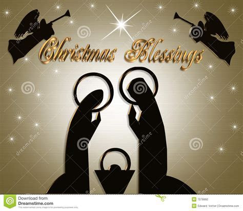 Nativity Christmas Abstract Stock Photography   Image: 7078992