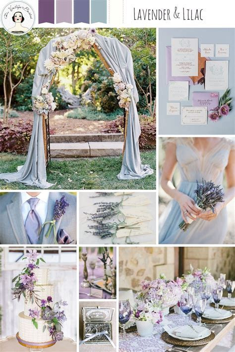 A Romantic Lilac & Lavender Wedding Inspiration Board