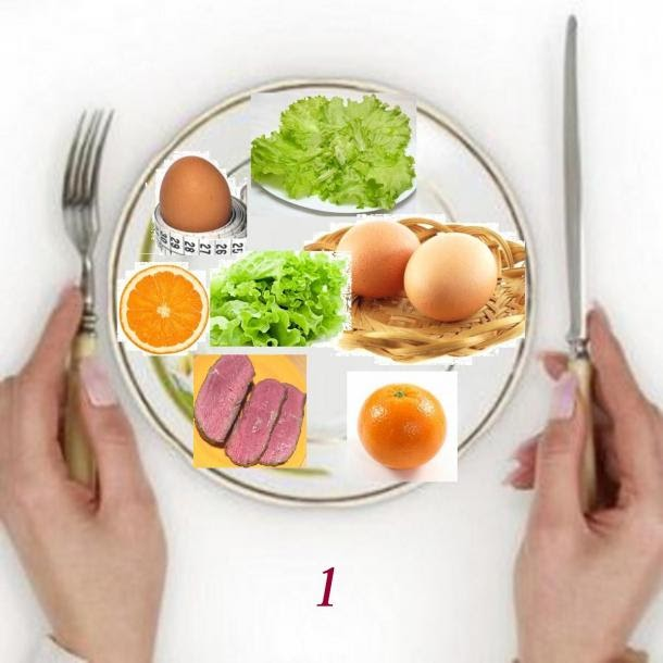 Диетические рецепты блюд с количеством калорий