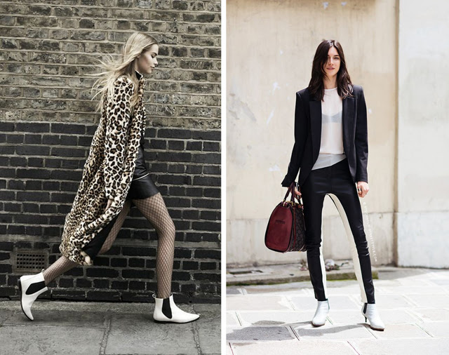 inspiration fashion zara campaign lookbook 2013 fall winter 2014 leopard print white boots black and white fashion blogger turn it inside out belgium