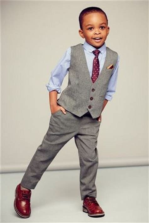 2016 Cheap Handsome Grey Little Boys Wedding Suits ( Pants