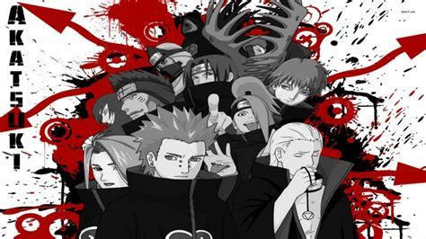 (7997) Naruto Shippuden Akatsuki Android HD Wallpaper