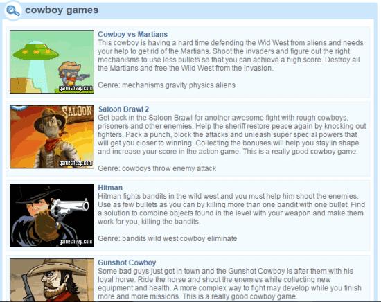 Situs game koboy online gratis