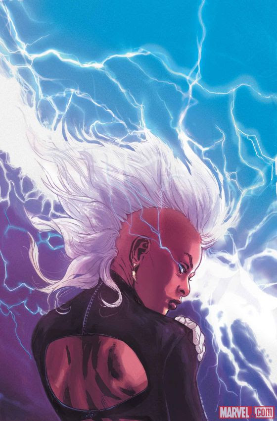 Storm #1 Cover by A-Force Artist Victor Ibanez