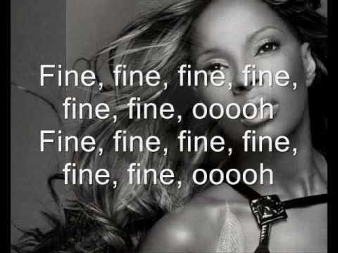 Mary J Blige Just Fine Lyrics