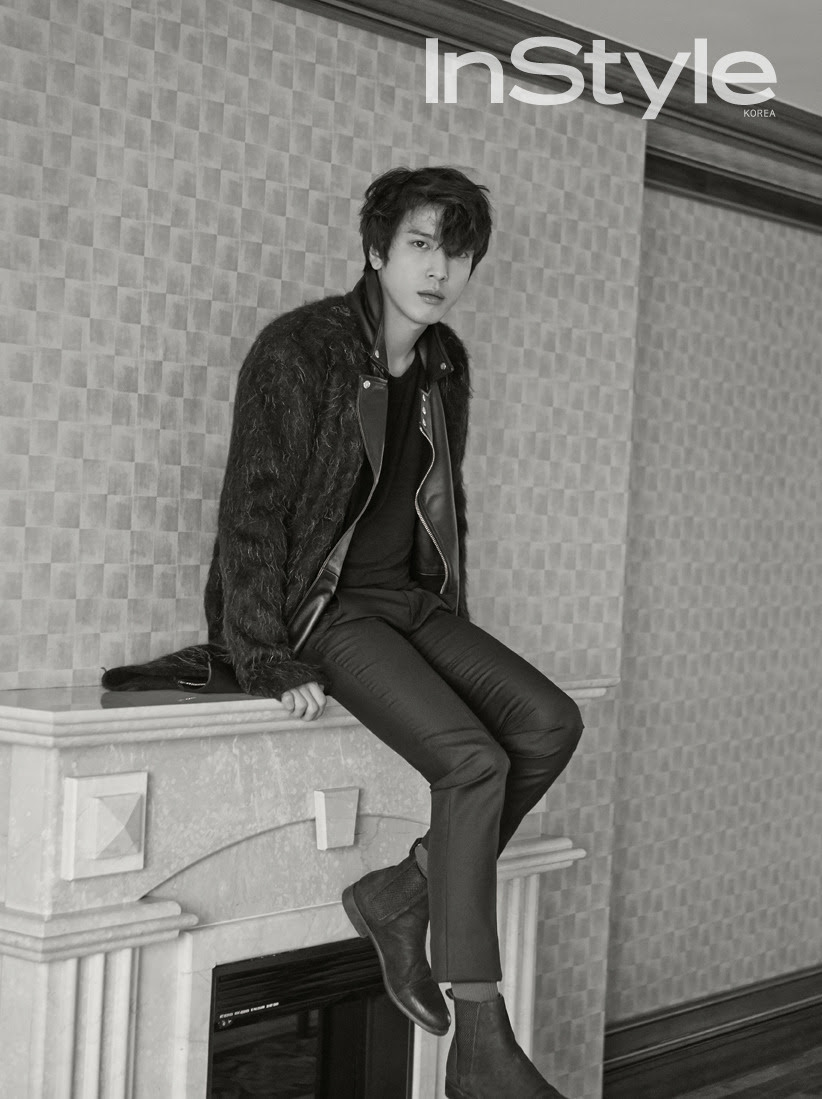 C.N Blue Yong Hwa - InStyle Magazine December Issue '14