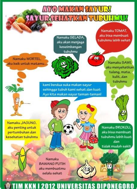 Contoh Gambar Iklan Layanan Masyarakat Tentang Makanan Sehat